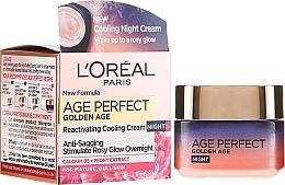 Voňavky, Parfémy, kozmetika Nočný krém - L'Oreal Paris Age Perfect Golden Age Night Cream
