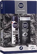 Voňavky, Parfémy, kozmetika Sada - Nivea Active Care (sh/gel/250ml+deo/150ml)