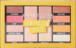 Voňavky, Parfémy, kozmetika Paleta tieňov na 12 odtieňov - Maybelline Lemonade Craze Palette