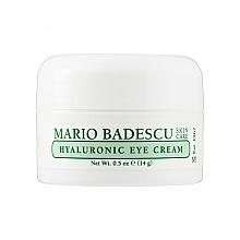 Voňavky, Parfémy, kozmetika Hyalurónový krém pre oblasť okolo očí - Mario Badescu Hyaluronic Eye Cream