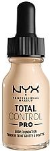Voňavky, Parfémy, kozmetika Make-up - NYX Professional Total Control Pro Drop Foundation