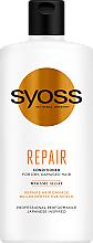 Voňavky, Parfémy, kozmetika Kondicionér na vlasy s morskými riasami wakame - Syoss Repair Conditioner