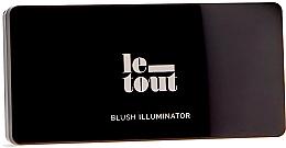 Voňavky, Parfémy, kozmetika Paleta na líčenie - Le Tout Blush Illuminator