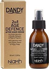 Voňavky, Parfémy, kozmetika Sérum po holení - Niamh Hairconcept Dandy 2 in 1 Age Defence Aftershave Serum