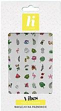 Voňavky, Parfémy, kozmetika Nálepky na nehty - Hi Hybrid Vibes Nail Stickers