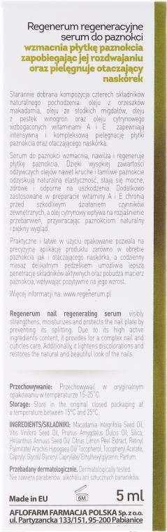 Regeneračné sérum na nechty a nechtovú kožičku - Aflofarm Regenerum Nail Serum — Obrázky N3
