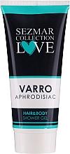 Voňavky, Parfémy, kozmetika Sprchový gél 2 v 1 na vlasy a telo - Hrisnina Cosmetics Sezmar Collection Love Varro Aphrodisiac Hair & Body Shower Gel