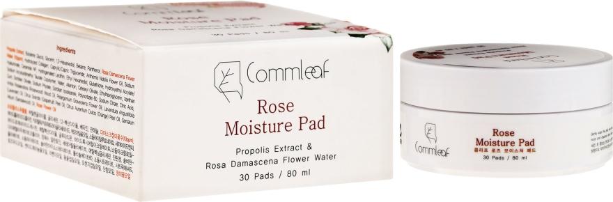 Čistiace vatové tampóny - Commleaf Rose Moisture Pad