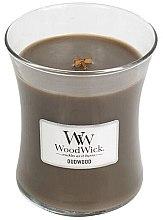 Voňavky, Parfémy, kozmetika Vonná sviečka v pohári - WoodWick Hourglass Candle Oudwood