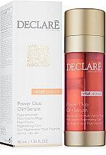 Voňavky, Parfémy, kozmetika Dvojfázový regeneračný prostriedok - Declare Vital Balance Power Duo Oil+Serum