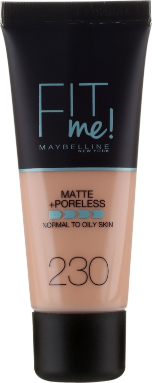 Tonálny krém - Maybelline Fit Me Matte Poreless Foundation