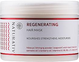 """Voňavky, Parfémy, kozmetika Vlasová maska """"Obnovenie"""" - Naturativ Regeneration Mask"""