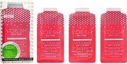 """Voňavky, Parfémy, kozmetika Sada pre pedikúru """"Ružový grapefruit"""" - Voesh Pedi In A Box 3 In 1 Deluxe Pedicure Vitamin Recharge Pink Grapefruit"""