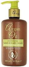 Voňavky, Parfémy, kozmetika Tekuté mydlo s arganovým olejom - Xpel Marketing Ltd Argan Oil Moisturizing Hand Body Wash