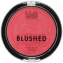 Voňavky, Parfémy, kozmetika Lícenka - MUA Blushed Matte Powder
