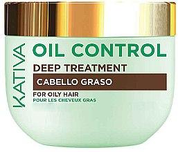 Voňavky, Parfémy, kozmetika Maska pre mastné vlasy - Kativa Oil Control Deep Treatment