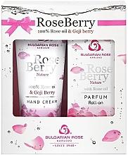 Voňavky, Parfémy, kozmetika Bulgarian Rose Rose Berry - Sada (parf/roll/50ml + h/cr/50ml)