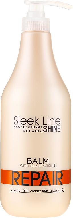 "Balzam ""Obnovenie a lesk"" - Stapiz Sleek Line Repair Shine Balsam"