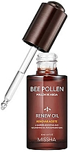 Voňavky, Parfémy, kozmetika Olej na tvár - Missha Bee Pollen Renew Oil