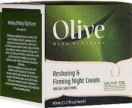 Voňavky, Parfémy, kozmetika Regeneračný a spevňujúci nočný krém - Frulatte Olive Restoring Firming Night Cream