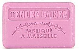 """Voňavky, Parfémy, kozmetika Marseillské mydlo """"Nežný bozk"""" - Foufour Savonnette Marseillaise Tendre Baiser"""