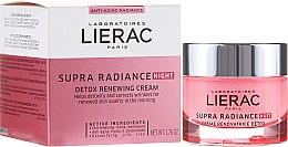 Voňavky, Parfémy, kozmetika Krém-detox nočny aktualizácie - Lierac Supra Radiance Creme Renovatrice Detox Nuit