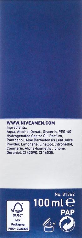 """Hydratačný lotion po holení """"Klasický"""" - Nivea For Men After Shave Lotion — Obrázky N3"""