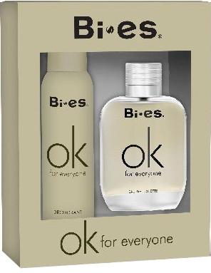 Bi-Es Ok For Everyone - Sada (edt/100ml + deo/150ml)
