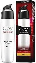 Voňavky, Parfémy, kozmetika Hydratačný lotion na tvár - Olay Regenerist Day Fluid Lotion SPF15