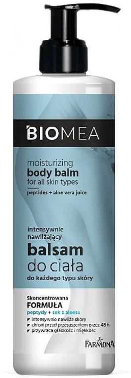 Hydratačný balzam na telo - Farmona Biomea Moisturizing Body Balm