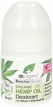 """Voňavky, Parfémy, kozmetika Dezodorant """"Konopný olej"""" - Dr. Organic Bioactive Skincare Hemp Oil Deodorant"""