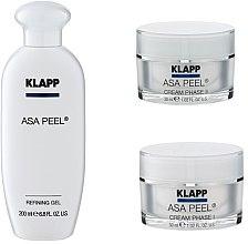 Voňavky, Parfémy, kozmetika Sada - Klapp ASA Peel Home Cure Pack (gel/200ml + f/cr/30ml + f/cr/30ml)