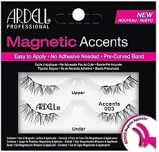 Voňavky, Parfémy, kozmetika Falošné mihalnice - Ardell Magnetic Lashes Accent 003