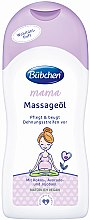 Voňavky, Parfémy, kozmetika Masážny olej - Bubchen Mama Massage Oil
