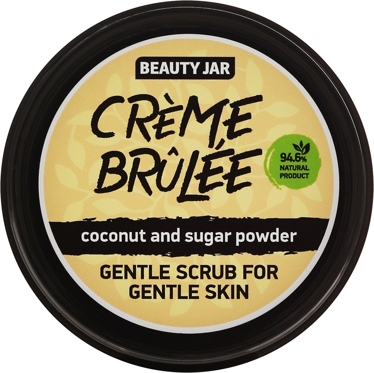 "Peeling na tvár ""Creme brulee"" - Beauty Jar Gentle Scrub For Gentle Skin"