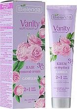 """Voňavky, Parfémy, kozmetika Depilačný krém """"Camellia"""" - Bielenda Vanity Soft Touch Kamelia"""