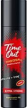 Voňavky, Parfémy, kozmetika Lak na vlasy s extra silnou fixáciou - Time Out Hairspray Extra Strong Volume And Shine