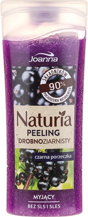 "Sprchový peeling ""Čierne ríbezle"" - Joanna Naturia Peeling"