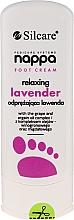 Voňavky, Parfémy, kozmetika Relaxačný krém na nohy s levanduľo - Silcare Nappa Foot Cream Relaxing Lavender
