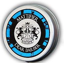 Voňavky, Parfémy, kozmetika Matná vlasová pasta - Dear Barber Mattifier Hair Paste