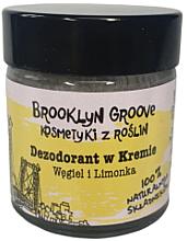 Voňavky, Parfémy, kozmetika Krémový dezodorant s limetkovou a pomarančovou vôňou - Brooklyn Groove Deodorant Cream