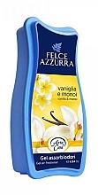 Voňavky, Parfémy, kozmetika Osviežovač - Felce Azzurra Gel Air Freshener Vanilla & Monoi