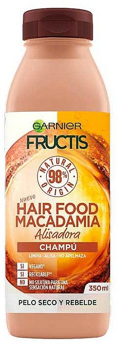 Ultra výživný šampón - Garnier Fructis Hair Food Macadamia Smoothing Shampoo