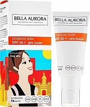 Voňavky, Parfémy, kozmetika Opaľovací krém na tvár - Bella Aurora Protector Solar Pre-Base SPF50+
