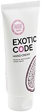 Voňavky, Parfémy, kozmetika Hydratačný krém na ruky pre suchú a normálnu pokožku - Good Mood Exotic Code Hand Cream