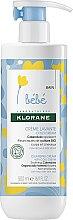 Voňavky, Parfémy, kozmetika Čistiaci krém pre deti - Klorane Bebe Cleansing Cream with Cold Cream