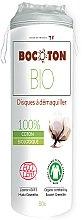 Voňavky, Parfémy, kozmetika Bio vatové tampóny okrúhle, 80 ks - Bocoton