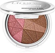 Voňavky, Parfémy, kozmetika Bronzujúci púder na tvár - Lirene Shiny Touch Mineral Bronzer & Blush