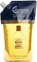 Voňavky, Parfémy, kozmetika Hydratačný sprchový olej mandľový (doy-pack) - L'Occitane Almond Shower Oil