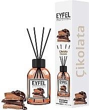 """Voňavky, Parfémy, kozmetika Aromatický difúzor """"Čokoláda"""" - Eyfel Perfume Reed Diffuser Chocolate"""
